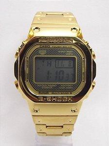 Gshock GMW B500 - Dourado