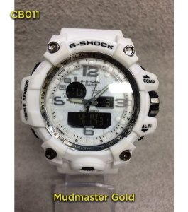 Gshock Mudmaster Gold - Branco