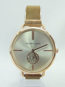 Michael Kors 100% Funcional - Rose com Fundo branco