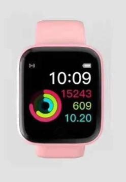 Smartwatch D20 Rosa