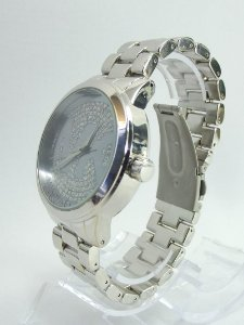 Relógio feminino Michael kors Prata com Fundo Branco