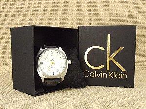 Calvin Klein Prata e Preto