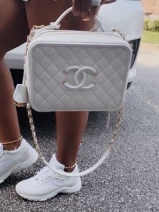 Bolsa Chanel Nº 2  Branca