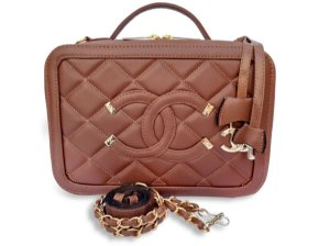 Bolsa Chanel Nº 2  Marrom
