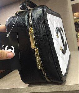 Bolsa Chanel Nº 2  Preta e Branca