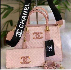 Bolsa Chanel N° 1 Rosa