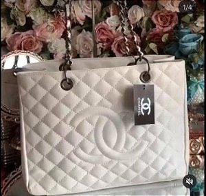 Bolsa Chanel N° 3 Branca