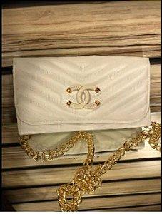 Bolsa chanel N° 4 Branca