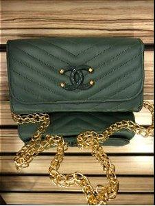 Bolsa chanel N° 4 Verde