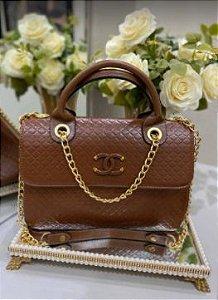 Bolsa Chanel N° 5 Marrom