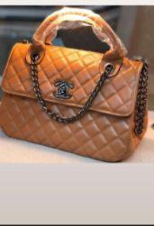 Bolsa Chanel N° 6 Marrom