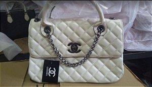 Bolsa Chanel N° 6 Branca