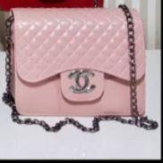 Bolsa Chanel N° 7 Rosa