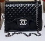 Bolsa Chanel N° 7 Preta