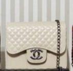 Bolsa Chanel N° 7 Branca