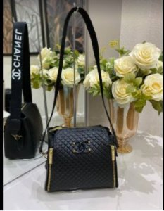 Bolsa Chanel N° 8 Preta