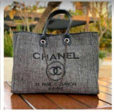 Bolsa Chanel N°9 Cinza