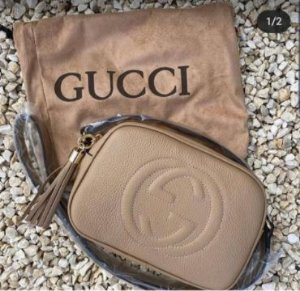 Bolsa Gucci N°5 Bege