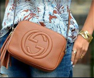 Bolsa Gucci N°5 Caramelho