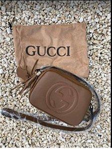 Bolsa Gucci N°5 Marrom