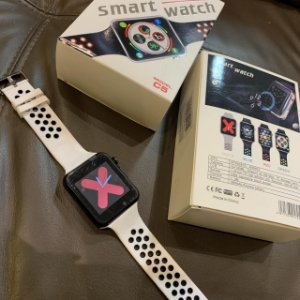 Smartwatch C5 Branco - Ligação com Chip