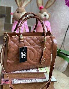Bolsa Chanel Shopper - Marrom