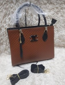 Bolsa Chanel N° 1 G - Marrom com Preto