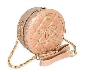 Bolsa Chanel Bolinha - Amêndoa