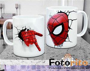 Caneca de Plástico - Homem Aranha