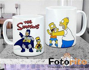 Caneca de Plástico - Os Simpsons