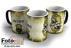 Caneca Mágica Harry Potter - Casas de Hogwarts