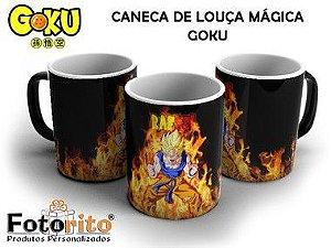 Caneca Mágica Goku