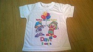 Camiseta Básica Personalizada