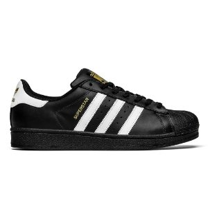 Tenis Adidas Superstar Fundation Preto com Branco 3b733a0b276