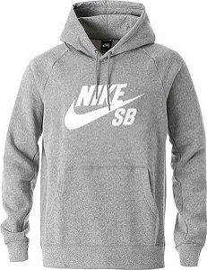 Moletom Canguru Nike SB Cinza