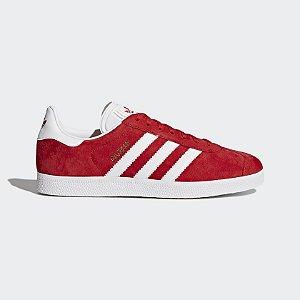 Tenis Adidas Gazelle Vermelho