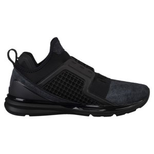 Tenis Puma Ignite Limitless Brushed Suede Black