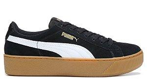 Tenis Puma Vikky Plataforma Preto