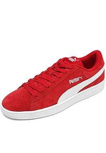 Tenis Puma Smash  Vermelho