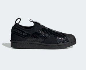 Tenis Adidas Superstar Slip On Black Black