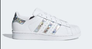 Tenis Adidas Superstar Metalizado
