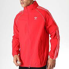 Jaqueta Adidas BLC SST Windbreaker Vermelha