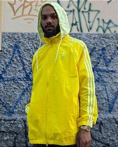 Jaqueta Adidas BLC SST corta vento Windbreaker Amarela