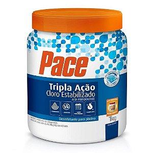 Cloro Tablete hth Pace Tripla Ação - 1kg
