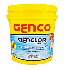 Cloro Granulado Genco Estabilizado Genclor - 10Kg