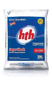 Cloro Granulado Super Shock HTH - 500G