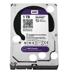 Hd Interno 1tb 1000gb Western Digital Purple Sataiii 64mb Wd10purx