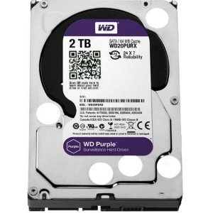 Hd Interno 2tb 2000gb Western Digital Purple Sataiii 64mb Wd20purx