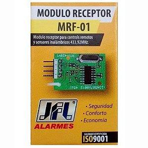 Módulo Receptor Para Sensores Sem Fio e Controles Remotos 433,92 MHz MRF-01 JFL