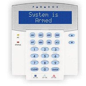 Teclado LCD com Controle de Acesso para Linha Digiplex EVO K641R